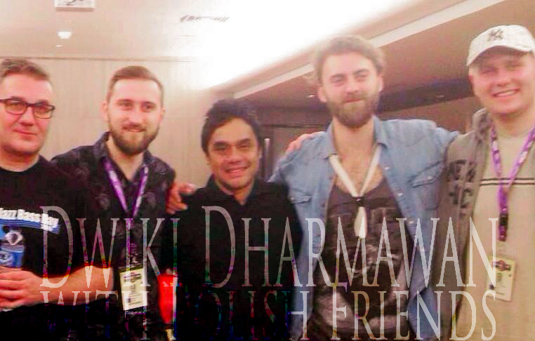 Dwiki Dharmawan with Polish Friends